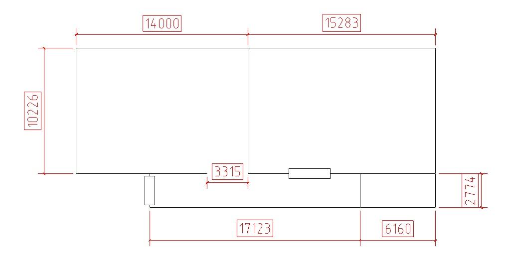 схема стеллажной системы для