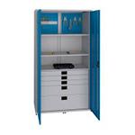 металлический шкаф для хранения инструментов производства Скаф