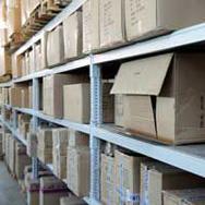 Хранение коробок с документацией